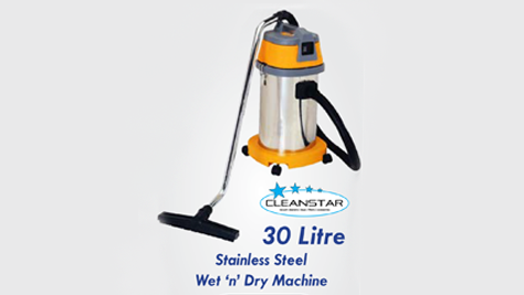Vacuum Cleaner Stainless Steel 30L