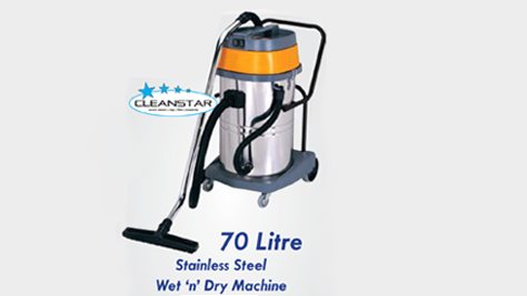 Vacuum Cleaner Stainless Steel 70L